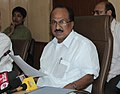 The Minister of State for Agriculture, Consumer Affairs, Food & Public Distribution, Prof. K.V. Thomas briefing the press, in New Delhi on June 17, 2010.jpg