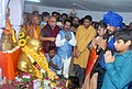 The Minister of State for Social Justice & Empowerment, Shri Ramdas Athawale visiting the Chaitya Bhoomi (Dr. Babasaheb Ambedakar Smarak), after taking up the reins of the Ministry, in Mumbai on July 08, 2016.jpg