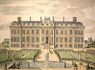 British Museum - Montagu House, c. 1715