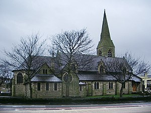 Places of worship in Burnley - St Andrew's Church, Colne Road