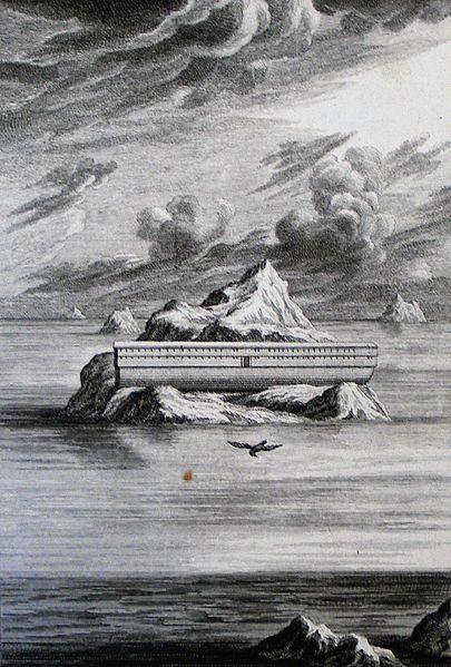File:The Phillip Medhurst Picture Torah 57. The Ark. Genesis cap 8 v 6-7. Pintz.jpg