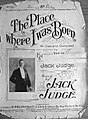 The Place Where I Was Born by Jack Judge (1915).jpg