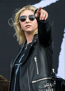Taylor Momsen American singer, songwriter, model, and former actress