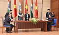 The Prime Minister, Shri Narendra Modi and the Prime Minister of the Socialist Republic of Vietnam, Mr. Nguyen Xuan Phuc witnessing the signing of agreements between India and Vietnam, in Hanoi, Vietnam on September 03, 2016 (1).jpg