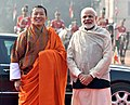The Prime Minister, Shri Narendra Modi with the Prime Minister of Bhutan, Dr. Lotay Tshering, at Rashtrapati Bhavan, in New Delhi on December 28, 2018.jpg
