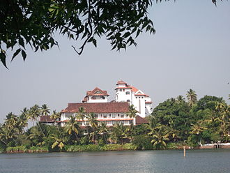 Islands of Kollam - Five star hotel 'The Raviz' in Kollam is situated at one of the island like structure near Thevally