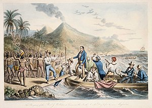 Missionary - English missionary John Williams, active in the South Pacific