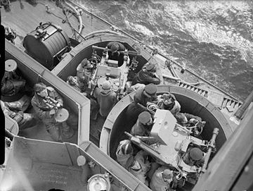 The Royal Navy during the Second World War A3651