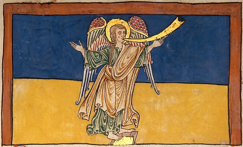 File:The Seventh Angel of the Apocalypse Proclaiming the Reign of the Lord - c. 1180.jpg