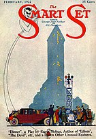 Cover of The Smart Set magazine for February 1922