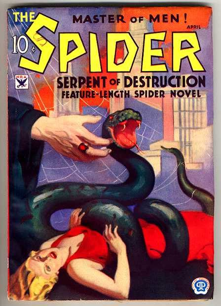 The Spider April 1934