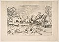 The Swan's Inn with Farms from the series The Small Landscapes MET DP818233.jpg