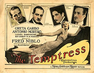 <i>The Temptress</i> 1926 film by Mauritz Stiller, Fred Niblo
