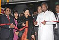 The Union Minister for Textiles, Dr. Kavuru Sambasiva Rao inaugurating the Silk Mark Expo 2014, in New Delhi on January 15, 2014. The Secretary, Ministry of Textiles, Ms. Zohra Chatterji is also seen.jpg