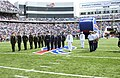 The United States of America military services are honored at the Buffalo Bills versus New England Patriots Game, at Niagara Falls, New York, on September 7th, 2003 030907-F-KW623-003.jpg