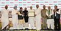The Vice President, Shri M. Hamid Ansari giving away the Lokmat Parliamentary Award 2017 to the former Deputy Prime Minister & Member of Parliament (LS), Shri L. K. Advani, in New Delhi (1).jpg