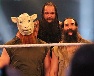 Erick Rowan - The Wyatt Family – Erick Rowan (left), Bray Wyatt (center) and Luke Harper (right)