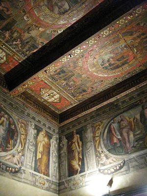 Palazzo Poggi - Image: The ceilings in Palazzo Poggi Bologna
