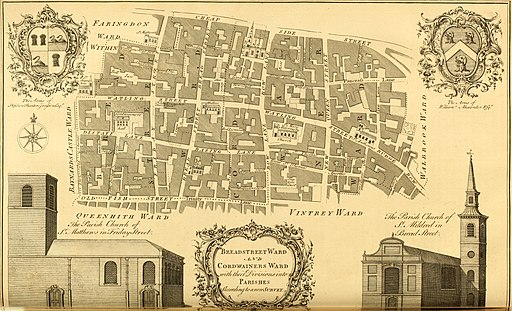 The history and survey of London - from its foundation to the present time (1756) (14753817226)