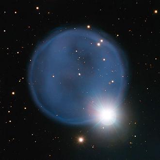 Hydra (constellation) - Image: The planetary nebula Abell 33 captured using ESO's Very Large Telescope