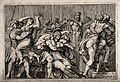 The rape of the Sabine women. Etching by G.B. Galestruzzi af Wellcome V0048216.jpg