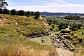 The ruins of the ancient Theatre of Sparta on May 15, 2019.jpg