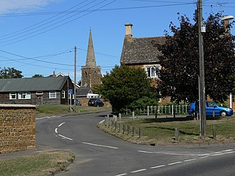 Caldecott, Rutland - Image: The village of Caldecott, Rutland geograph.org.uk 561727