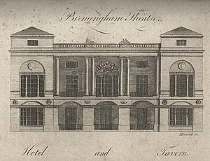 Samuel Wyatt - The Theatre Royal, Birmingham in 1780