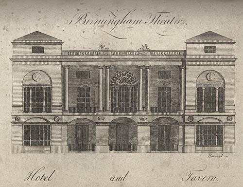 Theatre Royal, Birmingham in 1780