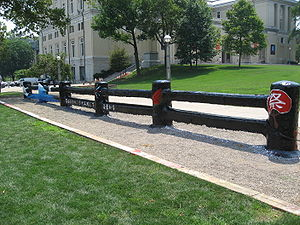 Carnegie Mellon University traditions - The Fence, 2006