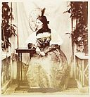 Thereza Dillwyn Llewelyn wearing a Bernese (Swiss) Peasant dress (4032154032).jpg