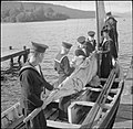 They Learn To Be Sailors- Sea Cadet Training on the Training Ship HMS Undine, Bowness-on-windermere, England, UK, 1943 D16445.jpg