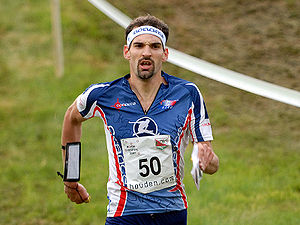 Orienteering World Cup - Thierry Gueorgiou, winner 2006 and 2007