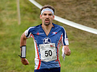 Thierry Gueorgiou French orienteering competitor