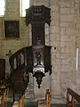 Thiviers église chaire.JPG