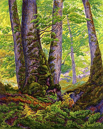 Paul Ranson - Image: Three Beeches 1905 Paul Ranson
