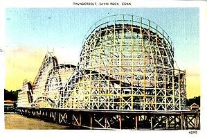 Thunderbolt (Savin Rock) - Image: Thunderbolt Savin Rock Postcard