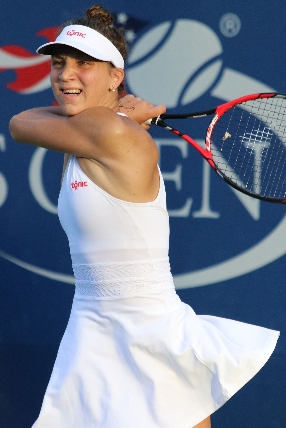 Romanian tennis player Patricia Tig reaches semifinals in ...