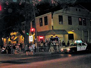 Tchoupitoulas Street - Tipitina's at the corner of Tchoupitoulas and Napoleon