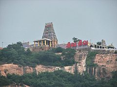 View of Tiruchengode Thirumalai
