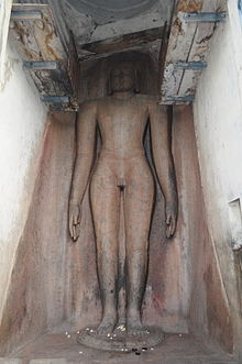 image of a religious sculpture in standing pose