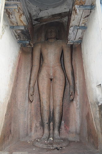 Neminatha - The largest statue of Neminath with height of 16 meters at Tirumalai built in 12th century