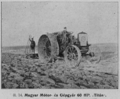 Titan petrol engine tractor in 1913 manufactured by the Magyar Motor és Gépgyár.png