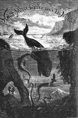 Title page of Vingt mille lieues sous les mers