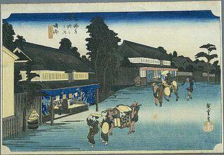 Narumi-juku Fortieth of the 53 stations of the Tōkaidō