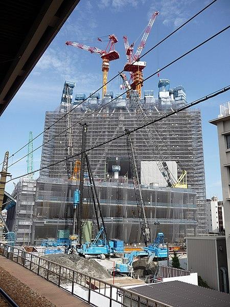 File:Tokyo Sky Tree under construction 20090714-1.jpg