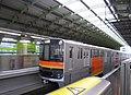 Tokyo Tama city monorail 1000 in Tachikawa-kita st.jpg