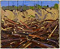 Tom Thomson, Sandbank with Logs, 1916.jpg