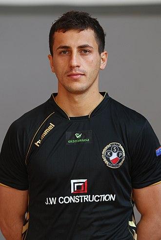 Tomasz Jodłowiec - Jodłowiec as player for Polonia Warsaw