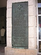 Tomb Warsaw tablet old